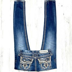 Rock Revival Embellished Kai Skinny Jean's.  26